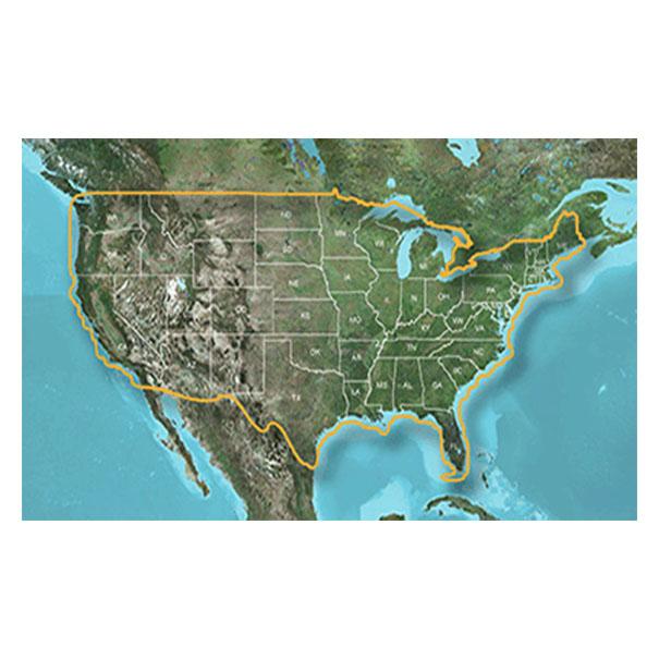 Garmin 010-C1087-00 LakeVu HD, LUS100F, All U.S.