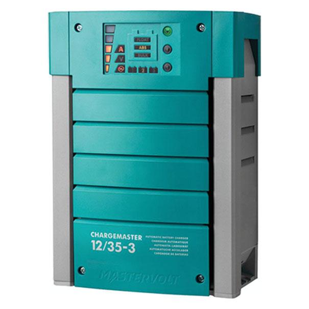 MasterVolt 44010350 Batt Chgr, ChargeMaster 12V 35A, 3 Bank